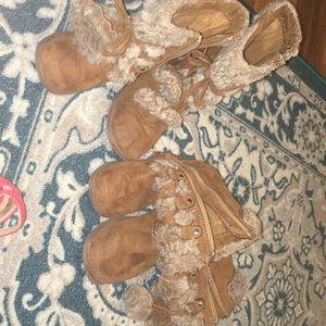 2 pairs of Ralph Lauren boots